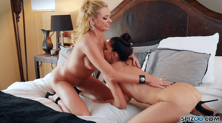 Spizoo – Briana Banks And Jessica Jaymes Brianas Bed