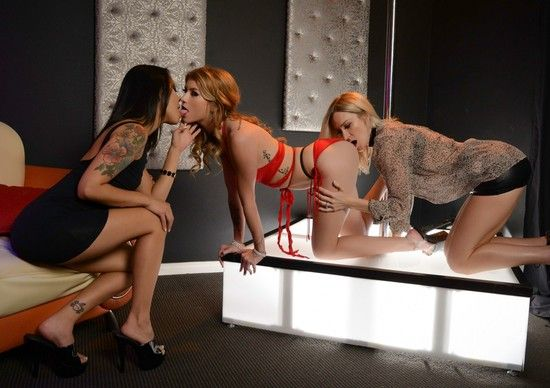 Spizoo: Arya Fae Your Stripper – Arya Fae ,Blake Morgan , Saya Song