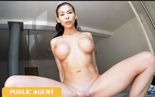 PublicAgent : Facial for cheating American babe –  Heather Vahn