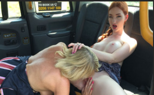 FemaleFakeTaxi – Amy , Zara Durose  – Redhead and milf have sexy taxi fun