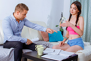 FuckStudies – The Young Tight Asshole is Attacked By A Huge Dick – Milana Witch