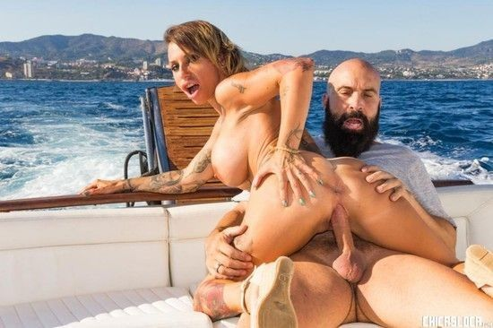 ChicasLoca – Gina Snake – Busty Spanish MILF gets fucked on a boat