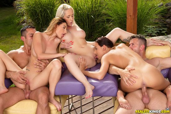 EuroSexParties: Euro Boob Wash – Christina Shine, Maya Crush, Cayenne Hot