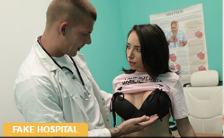 FakeHospital:  Tattooed hottie squirts and orgasms – Lola Bulgari